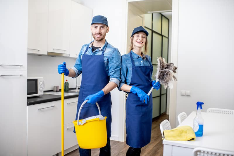 Common Injury Risks Faced by Cleaning Professionals